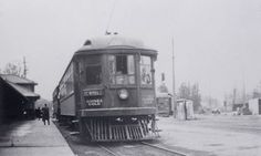 Toronto Transit Commission, Glen Echo terminal, Yonge Street, east side, north of Glen Echo Road, 1920