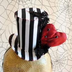 3d52e7b3565 Tim Burton Mini Top Hat