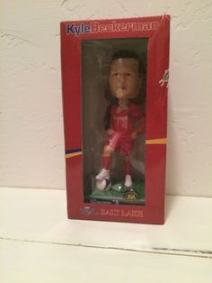 Kyle Beckerman Bobblehead Real Salt Lake RSL Limited Edition Rare In Box please retweet