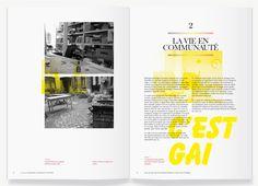 Élodie Poulin #magazine #spread