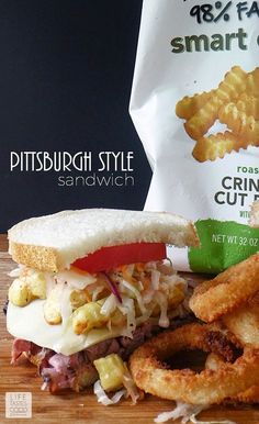 Pittsburgh Style Sandwiches | by Life Tastes Good are a homemade version of that delicious sandwich made famous by the Primanti Bros.
