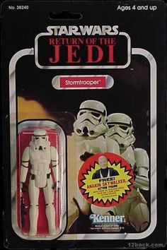 STAR WARS RETURN OF THE JEDI STORMTROOPER ACTION FIGURE