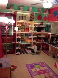 American Girl 3 Story Dollhouse American Girl Dollhouses