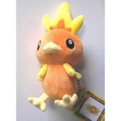 Torchic Pokemon Canvas Plushie Japan