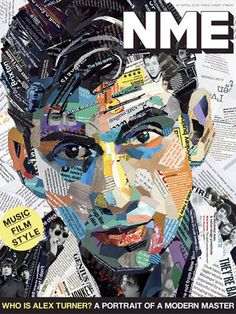 A very good digital art inspiration. April 1, 2016 Issue: Who is Alex Turner? A portrait of a modern master | NME.COM