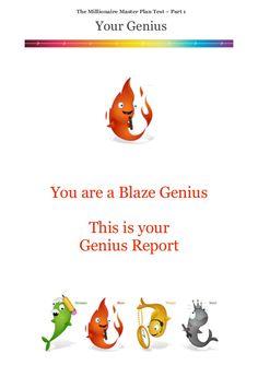 Millionaire Master Plan - Sample Genius Report by Roger Hamilton via slideshare