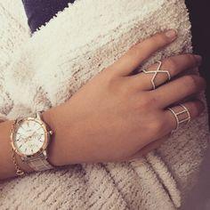 Nydelig kombinasjon fra Gullfunn Storo  #seiko #klokke #ringer #dagenstilbehør @gullfunn_storo