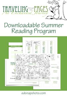 Summer Reading Program Free Download - not a book list but fun guided ideas for a summer of reading