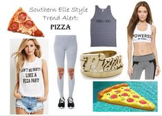 Trend Alert: Pineapples and Pizza | Southern Elle Style | Dallas Fashion Blogger