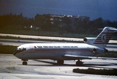 Turkish Airlines-THY Boeing 727-2F2Adv (Katay) [TC-JCE], 1984 Athens Hellinikon airport Boeing 727, Turkish Airlines, Athens, Planes, Aviation, Europe, Model, Airplanes
