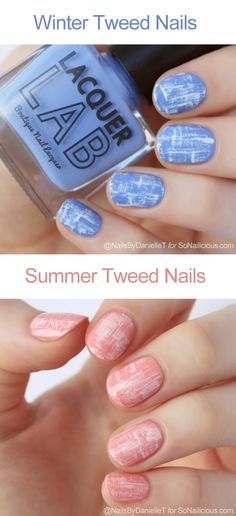 Tweed nail design is an easy and chic look suitable for any occasion. To learn how to do tweed nails yourself, just follow our step-by-step tutorial!