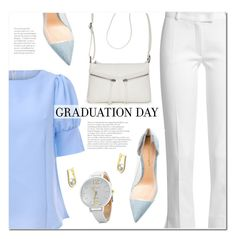"""""""Congrats, Grad: Graduation Day Style"""" by ansev ❤ liked on Polyvore featuring Joseph, Gianvito Rossi, Bueno and Graduation"""