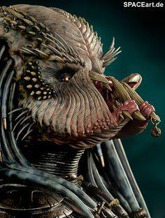 Predator 2: Elder Predator Büste, Büste ... http://spaceart.de/produkte/pr002.php