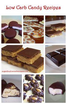 Homemade Sugar Free Low Carb Candy Recipes