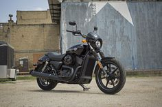 They're built to give traffic a beating with plently of #DarkCustom style. | 2016 Harley-Davidson Street 750