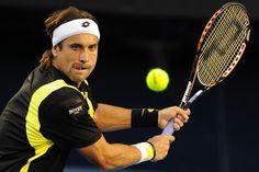David Ferrer pone fin a la carrera de Lleyton Hewitt y pasa a la tercera ronda