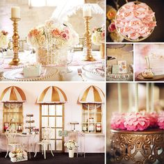 If you love glitter and glamour then you will love this {Sweet & Girly} French Inspired Baby Shower by Lilly of I Heart Sugar Sugar! http://hwtm.me/14NrKbv #BabyShower #Paris