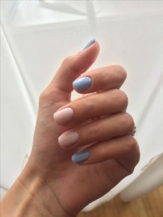 Pastel cute nails