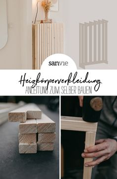 Diy And Crafts, Home Improvement, Crafty, Living Room, Wood, Bungalow, Interiors, Inspiration, Awesome