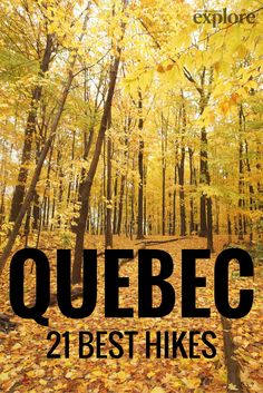 Quebec's 21 Best Hikes via Explore Magazine. Hiking Tips, Camping And Hiking, Backpacking, Camping Cabins, Camping Gear, Camping Guide, Camping Trailers, Hiking Quebec, Banff