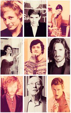 Cast of Merlin