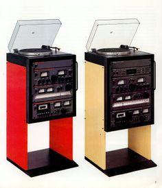 Hartmut Esslinger, Wega JPS 351plus HiFi Rack, 1978