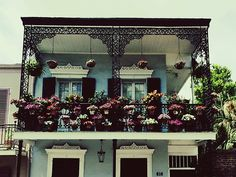 Balconies of the French Quarter, New Orleans