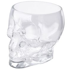 <p>Quirky and versatile, the Jay Crystal Skull Glass Container will add a touch of gothic chic to your home. The jar can be filled with snacks, fruit or any miscellaneous household items, and can even be used as a vase. A great statement piece, this cool skull would make a practical gift idea. - L.M.</p> <p><strong>Features:</strong></p> <ul> <li>Jay Crystal Skull Glass Container</li> <li>Versatile design</li> <li>Ideal for storing snacks, fruit or even using as a ...