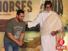 Its movie time for Amitabh Bachchan and his co-stars Aamir Khan and Fatima Sana Shaikh