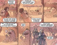 """""""The Weeping Woods"""" from Oglaf."""