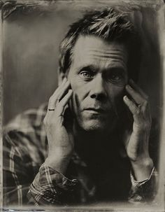 © Victoria Will/AP/Penumbra Kevin Bacon From: Making Of: Victoria Will's Tintype Celebrity Portraits From Sundance Kevin Bacon, Celebrity Photographers, Celebrity Portraits, Portrait Photographers, Ewan Mcgregor, James Franco, L'art Du Portrait, Hugo Weaving, Patrick Wilson