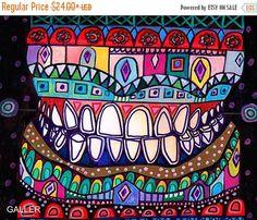 50% de descuento Storewide dentista dientes por HeatherGallerArt