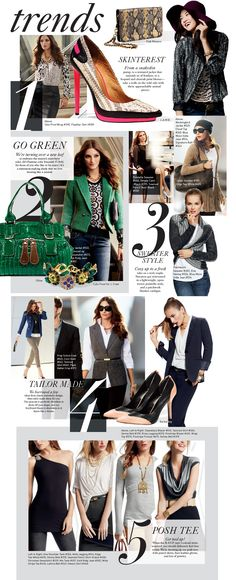 If you're a runway watcher like Kat and Becky, then you know the CAbi Fall 2013 Collection is riddled with the hautest trends from the European and New York runways! Black and white are anything but basic this season, as together they are the new black! But color fans need not worry; Pantone's color of the year—emerald—makes a strong splash across the Fall 2013 Collection! And have you seen our Posh Tees?! They make dressing up (and down!) a stylish cinch.