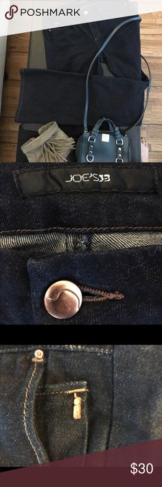 Joe's Boot Cut Jeans Joe's Bootcut dark wash trousers. Muse Sophist style. Excellent condition. Rarely worn. Beautiful silhouette. Joe's Jeans Jeans Boot Cut