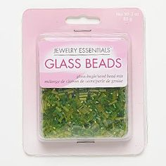 Seed and bugle bead mix, glass, silver-lined frosted light to medium green, 1.2mm-10x2mm mixed shape. Sold per 85-gram pkg, approximately 6,300 beads.
