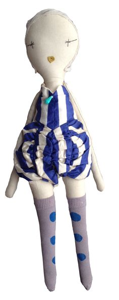 Jess Brown Wovenplay Circus Doll // poppyscloset.com #dolls #gifts