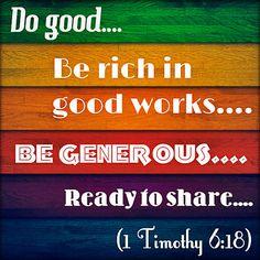 1 Timothy 6:18 | joshtinpowers | Flickr