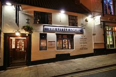 The Little Angel Pub, Whitby, Yorkshire- home to a rotating selection of brilliant real ales