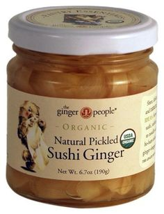 The Ginger People Organic Pickled Sushi Ginger, 6.70-Ounce Glass Bottle The Ginger People http://www.amazon.com/dp/B0071Q5FOW/ref=cm_sw_r_pi_dp_phBbvb03Z98Q0