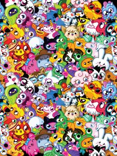 Oh yeah moshi monster moshlings