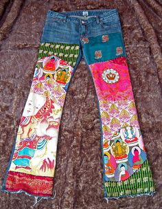 Want! Boho Buddha Jeans by mydeepbluec, via Flickr