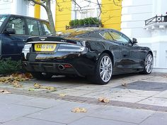 Aston Martin DBS just chillin in the driveway