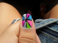 This is a nail design I actually made