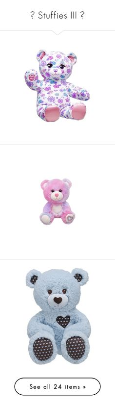 """""""♘ Stuffies III ♘"""" by cat-on-wheels ❤ liked on Polyvore featuring baby, stuffed animals, baby stuff, toys, accessories, baby boy, kids, stuffed toys, teddy bear and hello kitty"""