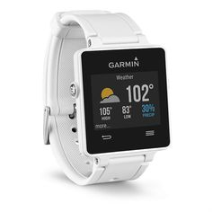 The Garmin Vivoactive, top activity trackers, running accessories, active lifestyle.