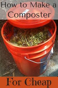make your own composter