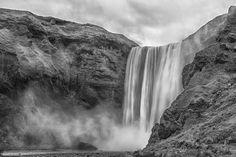 Poster & Download: Wasserfall Insel Kategorien: landschaften, wasserfall, reisen, landschaft, island