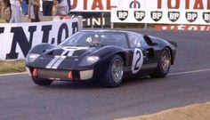 24 Horas de Le Mans 1966, Ford GT40 MKII, Bruce McLaren/Chris Amon, vencedores.