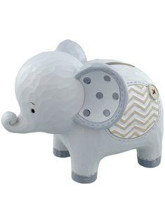 Pink elephant money box baby gift tfpgifts pinterest money box noahs ark elephant money box baby gift negle Gallery
