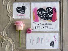 faire part mariage tissu collection coeur de la boutique latelierinspire sur etsy - Faire Part Mariage Etsy